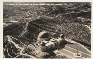 RP: CALIFORNIA, 1920-40s; Fairchild Aerial Photo, Planetarium & Hollywood