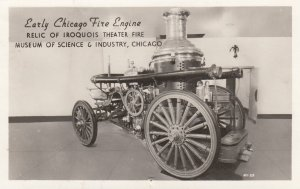 RP: Early CHICAGO Fire Engine , 1930s