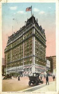 NEW YORK, N.Y., The Knickerbocker Hotel, Cars (1916) Stamp