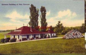 ENTRANCE BUILDING OF OHIO CAVERNS Salem Township