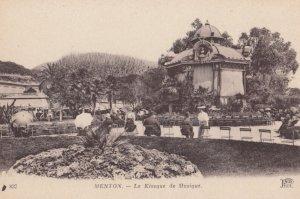 MENTON (Alpes Maritimes), France, 1900-1910s ; Le Kiosque de Musique