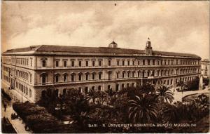 CPA Bari R. Universita Adriatica Benito Mussolini ITALY (802021)