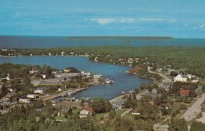 TOBERMORY, Ontario, Canada, 1940-60s ; Aerial View