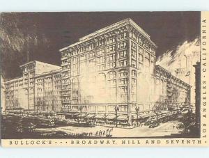 1940's BULLOCKS STORE Los Angeles California CA ho1110