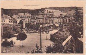Belgium Spa Kursaal et Cour de la Reine 1947