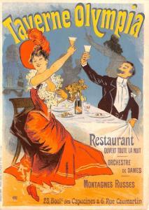 Taverne Olympia - Advertising