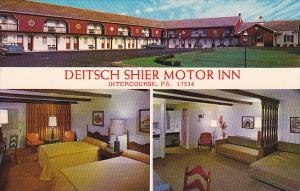 3-view,  Deitsch Shier Motor Inn,  Intercourse,  Pennsylvania,   40-60s