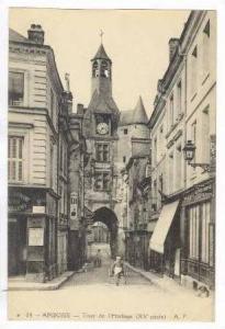 ANBOISE, France- Tour de l'Horloge, 00-10s