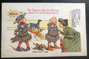 Mint USA Humor Picture postcard PPC The Squall Room Boy