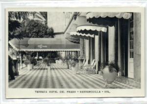 colombia, BARRANQUILLA, Terraza Hotel del Prado (1955)