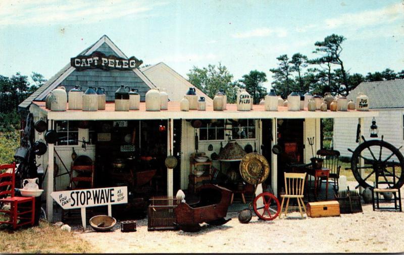 Massachusetts Cape Cod West Dennis Captain Peleg Antique Shop