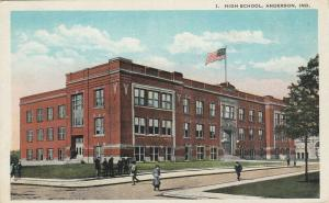 ANDERSON , Indiana, 1910s ; High SChool