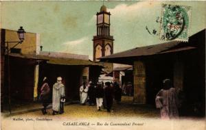 CPA Rue du Commandant Provost MAROC (796305)