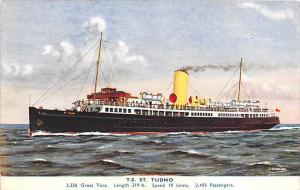 5691   T.S. St. Tudno  Liverpool and North Wales Steamship Co.