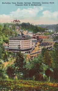 Birds Eye View Looking North Crescent Hotel In Background Eureka Springs Arka...