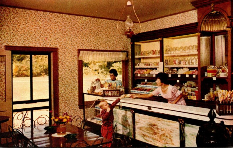 Wisconsin Cassville Stonefield The Sugar Bowl Confectionery Ice Cream Parlor
