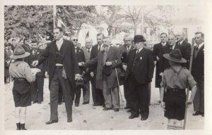 RP: Boy Scouts greet Dignitaries , Czech Republic , 1910-20s