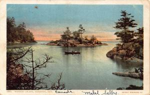 Canada Whiskey Island Kingston Ontario Panorama Postcard