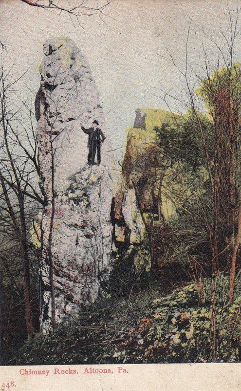 ALTOONA, Pennsylvania, PU-1905; Chimney Rocks