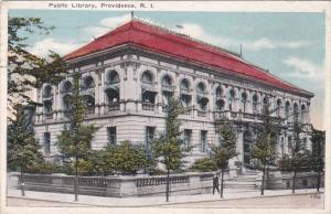 Public Library Providence Rhode Island 1918