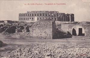 Tunisia El-Djem Thysdrus Vue generale de l'Amphitheatre