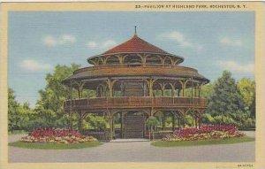 New York Rochester Pavilion At Highland Park