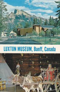 Exterior and Interior view,  Luxton Museum,  Banff,  Canada,   40-60s