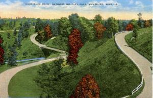 MS - Vicksburg. Vicksburg National Military Park, Horseshoe Drive
