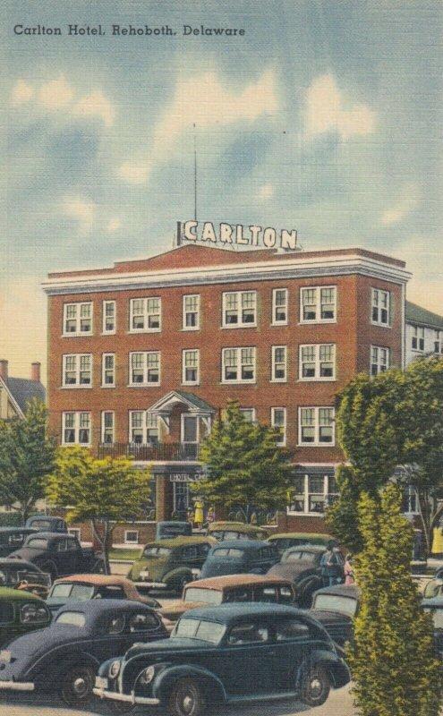 REHOBOTH , Delaware, 1930-40s ; Carlton Hotel