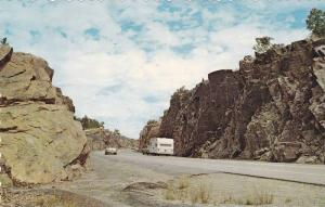 Kaver's Rock-Cut on the Circle Route Highway 17, Ontario, Canada,  40-60s