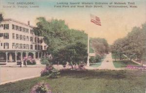 Massachusetts Williamstown Looking Toward Western Entrance Of Mohawk Trail Fi...