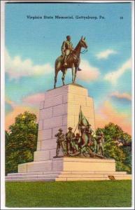 Virginia State Memorial, Gettysburg PA