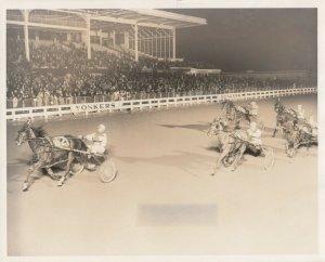 YONKERS Raceway Harness Horse Race , ANNROCS DREAM wins