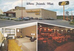 Exterior, Room, and Restaurant Views of Continental Inn and Convention Center...