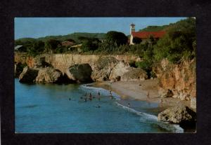 Curaçao Netherlands  Antilles island Caribbean West Point Bay Beach Postcard