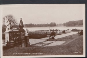 Cheshire Postcard - View From Terrace, Crewe Hall  DC1477