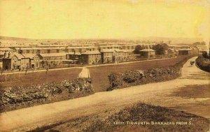 Tidworth Barracks from South Panorama Postcard