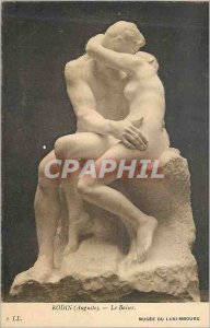 Old Postcard Musee du Luxembourg Rodin (Auguste Le Baiser
