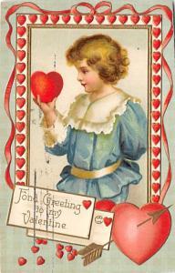 Valentines Day Postcard 1909