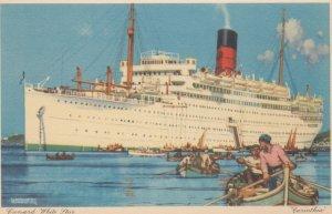 Cunard White Star ocean Liner Carinthia , 30-40s