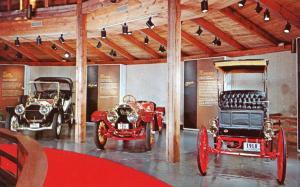 MA - Sandwich, Cape Cod. Round Barn Auto Museum