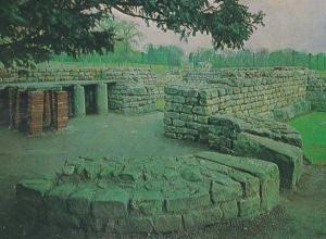 Chesters Fort Roman Commandant Bath House orthampton Rare Postcard