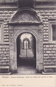 Palazzo Bevilacqua, Porta Con Veduta Del Cancello In Fondo, Bologna, Italy, 1...