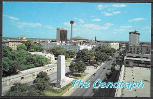 Texas, San Antonio, The Cenotaph, unused