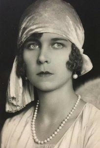 1929 Royalty Princess Marie Jose Of Belgium Real RPPC Postcard