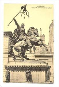FALAISE , France, 00-10s   Statue de Guillaume-le-Conquerant