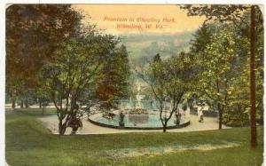Fountain in Wheeling Park,  West Virginia, PU-1912