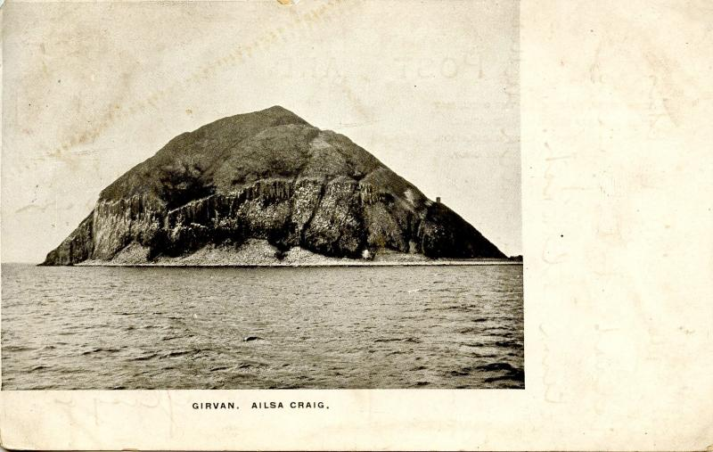 UK - Scotland. Girvan, Ailsa Craig