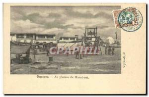 Old Postcard Djibouti Somali At Marabout TOP plateau