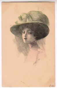 Woman, Artist Signed